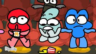 BFB: Four and Six goes to the movies
