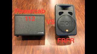 Amps In the Room Series: Line 6 PowerCab 112 vs FRFR - A (helpful?) Comparison