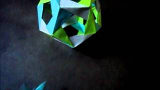 Origami Dodecahedron And Omega Star