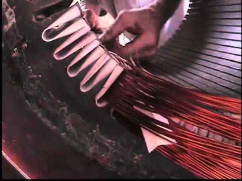 Rebobinado motor WEG 250 HP