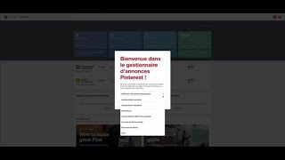 Pinterest- Formation Complète Offerte - Episode 7- Le Compte Publicitaire Pinterst