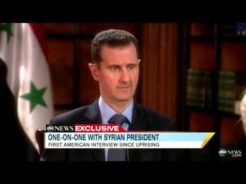 Barbara Walters Interview with Syria's President Bashar al-Assad: 'There Was No Command to Kill'