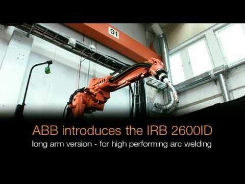 ABB Robotics - new Arc Welding robot with Integrated Dressing (ID)