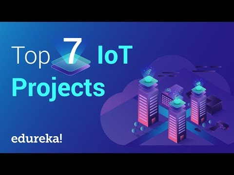 Top 7 IoT (Internet of Things) Projects | IoT Project Ideas | IoT Training | Edureka