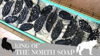 Making of King In The North Cold Process Soap | 🐺  GYPSYFAE CREATIONS