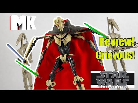 Star Wars The Black Series General Grievous Review