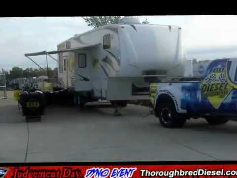 Vendor Row at Thoroughbred Diesel Judgement Day Dyno Event