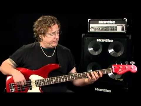 Bass Guitar Lessons - Fretboard Fitness - #3 Modes & Scales - Stu Hamm video