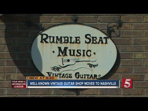 Rumble Seat Music Opens Nashville Vintage Guitar Store