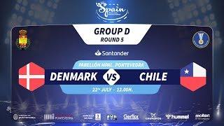 #Handtastic | PR - Group D | Denmark : Chile