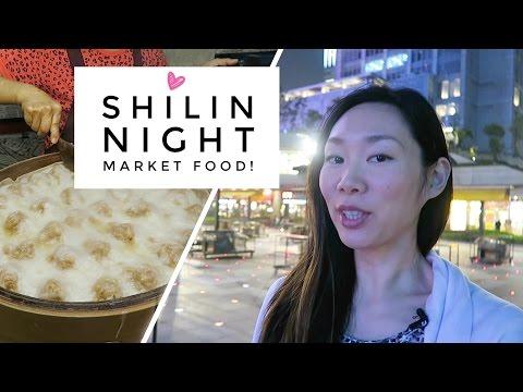 Shilin Night Market Food (士林夜市) | Taipei, Taiwan Vlog