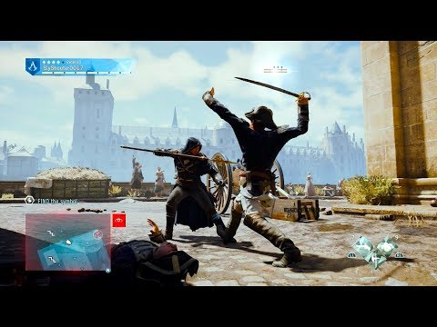 Sly Gameplay - Assassin's Creed Unity Brutal Swordfights/Moments Compilation Vol.2