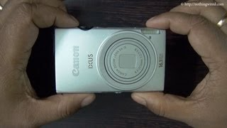 Canon Ixus 125 HS Review Part 1 full HD_ Hardware