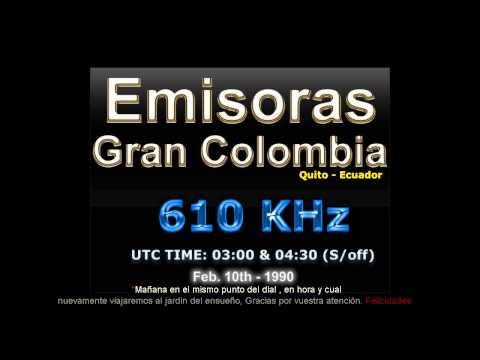 Emisoras Gran Colombia 610 AM