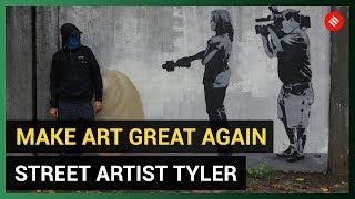 Tyler Street Art: Meet the artist behind Mumbai's viral graffiti