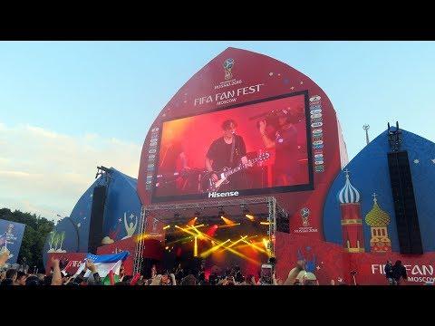 Vadim Samoylov – Never. FIFA Fan Fest (Croatia v England) thumbnail