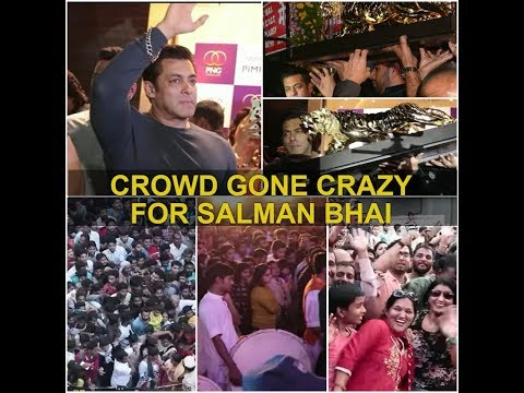 *** Fans Gone Crazy*** for SALMAN KHAN at an event | Soo much love for him