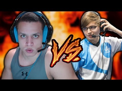 C9 Sneaky vs. Tyler1: The Battle of the Tylers (Solo Queue)