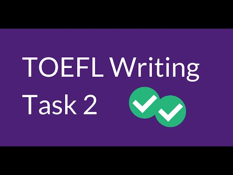 Essay Writing - TOEFL iBT practice tests