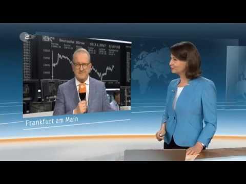 Bitcoin - Zukünftiger Handel an der Börse - Ausschnitt Heute ZDF