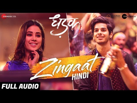 Download Lagu  Zingaat Hindi - Full Audio | Dhadak | Ishaan & Janhvi | Ajay-Atul | Amitabh Bhattacharya Mp3 Free