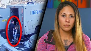 Armored Truck Employee Fired After Being Robbed