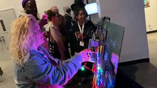 PRINTCADE:INVADERS 2019: An 1980s Arcade Game Built with Recycled Electronics