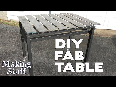DIY Welding Fabrication Table - Stronghand On a Budget