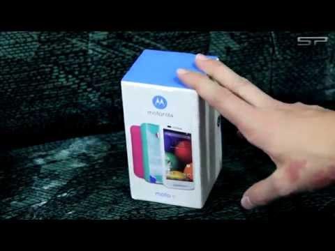 Dica #05 - UNBOXING Smartphone MOTO E (Motorola)