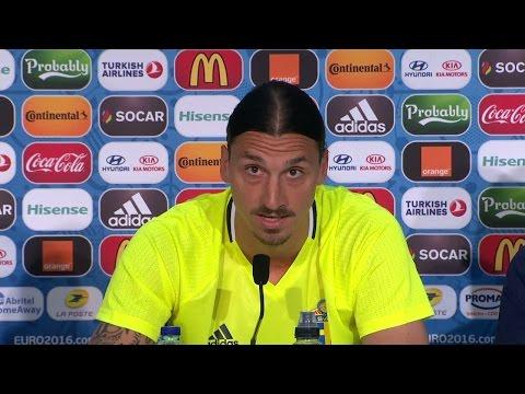 """Zlatan Ibrahimovic bekräftar: """"Jag slutar i landslaget efter EM"""" - TV4 Sport"""