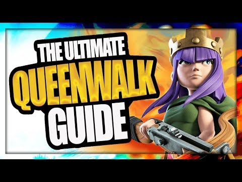 THE ULTIMATE QUEEN WALK STRATEGY GUIDE | QUEEN WALK TIPS FOR BEGINNERS | CLASH OF CLANS