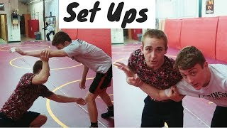 Top 5 Wrestling Moves *SET UPS*