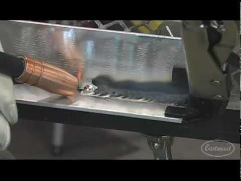 MIG Welding - MIG 175 Welder - How to Assemble and Start Welding from Eastwood