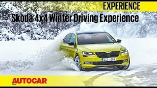 Skoda Winter Drive   Experience   Autocar India