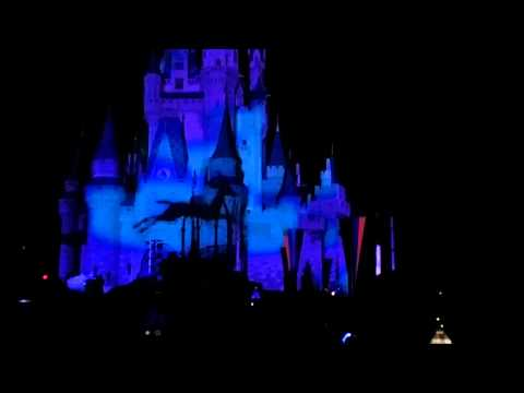 2013-2014 New Year Eve Countdown in Disney World