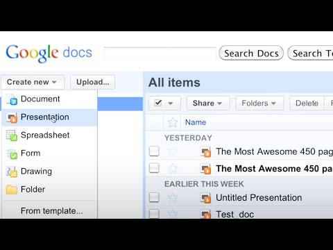 Grandiosa animación hecha sólo con Google Docs