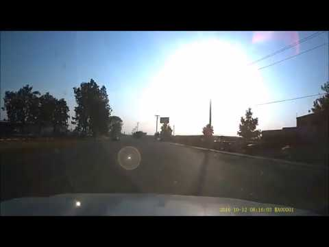 dash cam captures frightful collision in bakersfield youtube