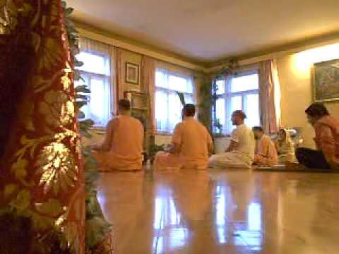 Bhajan Prem Gopal Goswami Wien 2007 video