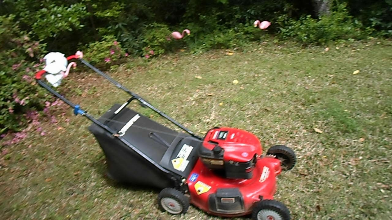 Cold Start Of The Troy Bilt 21 Quot Lawn Mower Family