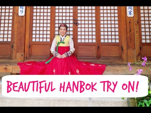Seoul's Vlog Day 6: Beautiful Hanbok Try On!