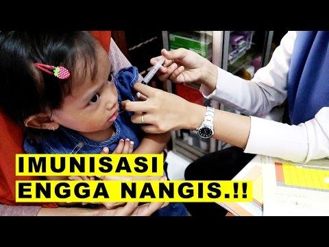 Imunisasi Bayi Lucu ❤ Suntik Campak