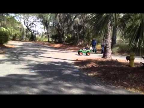 20 mph Modified Power Wheels Jeep