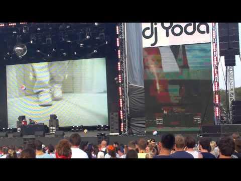 Dj Yoda, Bestival 2014 Main Stage (not Busta Rhymes)