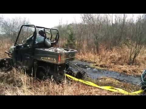 Tracks vs. Tires on a Polaris Ranger