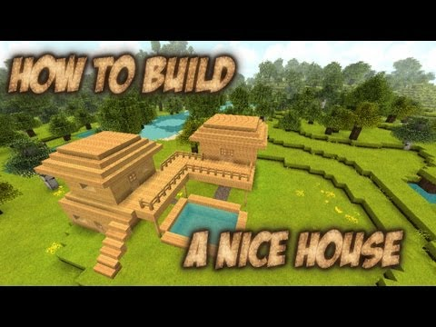 minecraft how to build a good house