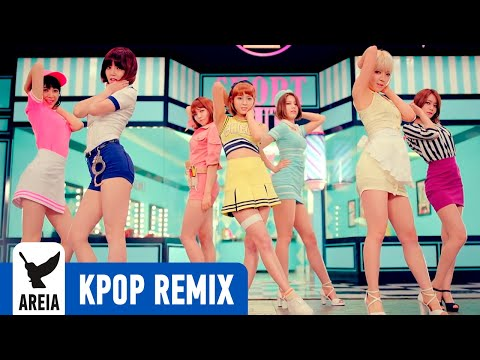 Aoa - Short Hair (단발머리) (areia Kpop Remix) video