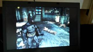 AMD Zacate V Core i5 running Batman - IDF 2010