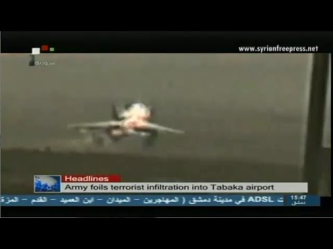 Syria News 23/8/2014, Army foils ISIS terrorists infiltration into Tabaka military airport