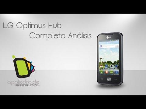 LG Optimus Hub (e510) Completo análisis del sucesor del optimus one
