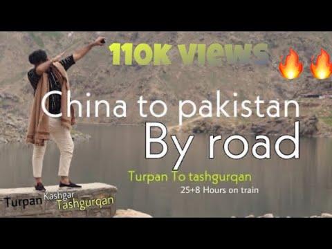 China To Pakistan By Road*Turpan To Tashgurqan*Gobi Desert